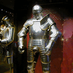 The armour of Henry VII in the Tower of London